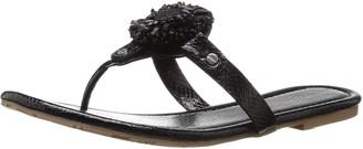Lindsay Phillips Women's Rosie Dress Sandal Black 9 M US