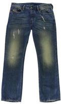 Diesel Mens New Fanker Slim Boot Cut Jeans