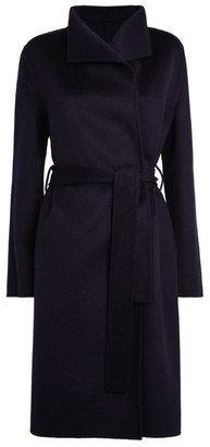 Joseph Lima Wool-Cashmere Belted Coat