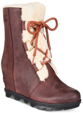 Sorel Women's Joan of Arctic Wedge Ii Waterproof Booties Women's Shoes