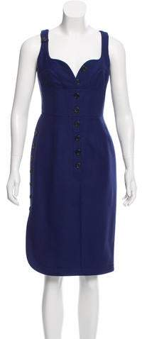 Derek Lam Wool Sheath Dress