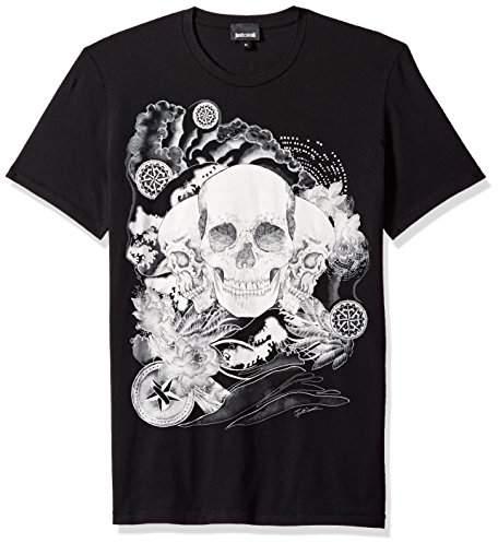 Just Cavalli Mens Skull T-Shirt