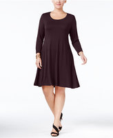 Style&Co. Style & Co. Plus Size Swing Dress, Only at Macy's