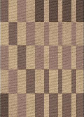 East Urban Home Scheel Geometric Wool Brown Area Rug Rug Size: Runner 2' x 5'