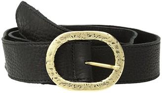 Leather Rock Betty Belt (Brown) Women's Belts