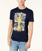 Ben Sherman Men's Tie-Dye Union Graphic-Print T-Shirt