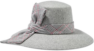Eugenia Kim Stevie Knotted Wool-felt Fedora