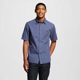 Mossimo Men's Short Sleeve Shirt Navy Twill