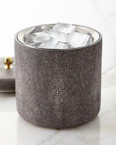 AERIN Shagreen Ice Bucket, Chocolate