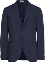Boglioli - Blue K-jacket Slim-fit Wool And Mohair-blend Blazer