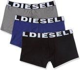 Diesel Men's 3-Pack Shawn Logo Cotton Stretch Trunk