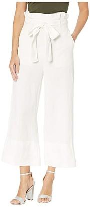 Blank NYC Linen Belted Pants in Alpine (Alpine) Women's Casual Pants