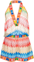 Missoni Printed Halter Top Romper