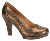 Sofft Mandy Metallic Leather Pump.