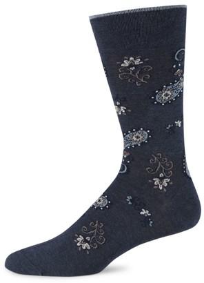 Marcoliani Milano Jaipur Paisley Pima Cotton Socks