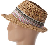 San Diego Hat Company CHA6390 Sequin Flower Fedora