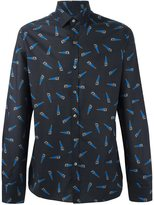 Lanvin handsaw detail shirt