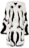 Oscar de la Renta Hooded Fur Coat