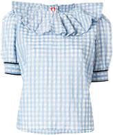 Shrimps ruffle collar blouse