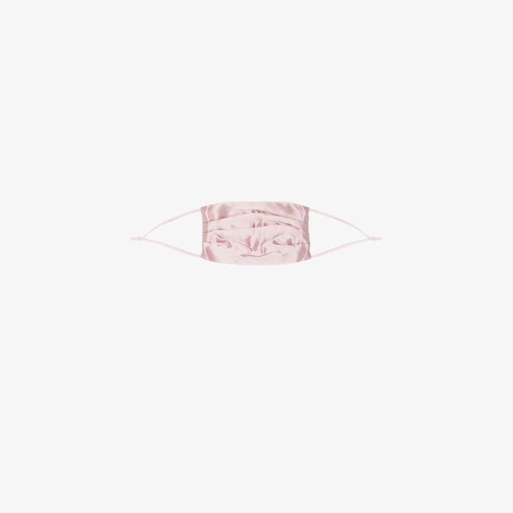 Slip Pink pintuck silk face mask