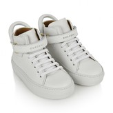 Buscemi BuscemiWhite Leather 100MM High Tops