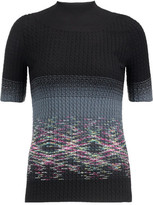 Missoni Cable-Knit Wool Top