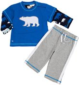 Hatley Track Pants Set (Baby) - Polar Bears-6-12 Months