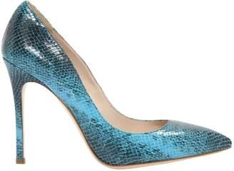 Miu Miu Turquoise Leather Heels
