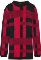 Tod's Mohair And Silk-blend Sweater - Red
