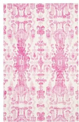Pottery Barn Teen Ikat Rug, 8'x10', Pink