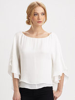 Silk Hampton Top
