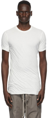 Rick Owens White Double T-Shirt