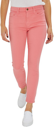 JEN7 by 7 For All Mankind Skinny Ankle High-Rise Colored Pants