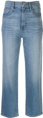 SLVRLAKE London high-waisted cropped jeans