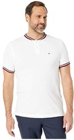 Tommy Hilfiger Eaton Polo Classic Fit (Bright White) Men's Clothing
