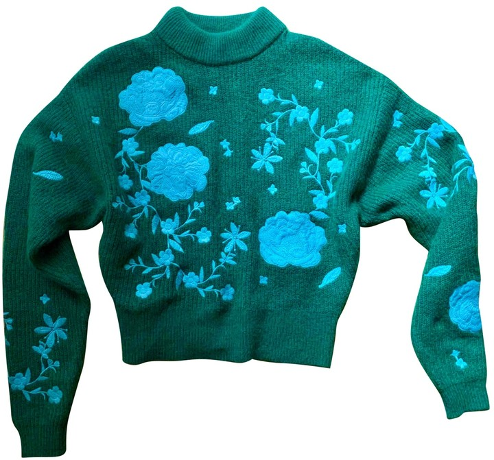 H&m Conscious Exclusive Green Wool Knitwear