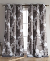 "Kensie Home Kittalilly Thermal Blackout Pair of 54 x 84"" Curtain Panels"