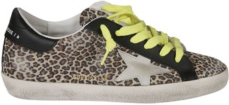 Golden Goose Superstar Leopard Sneakers
