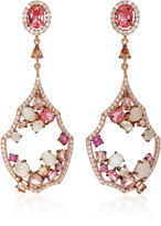 Anabela Chan 18K Rose Gold Multi-Stone Earrings