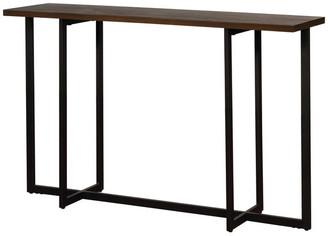 Worldwide Homefurnishings Inc. Console Table, Walnut