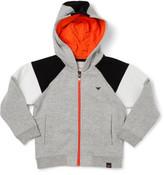 Armani Junior Zip Through Hoodie