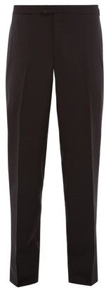 Thom Sweeney - Side-stripe Wool-twill Tuxedo Trousers - Mens - Dark Navy