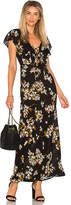 Amuse Society Alana Maxi Dress in Black. - size M (also in S,XS)