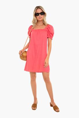Pomander Place Coral Darcy Dress