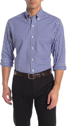 Tailorbyrd Gingham Check Print Regular Fit Shirt