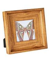 Fashion World Wooden Effect Photo Frame 4x4in