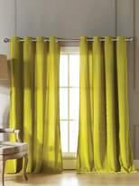 Kensie Madison Velvet Grommet Window Panels (Set of 2)