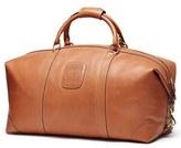 Ghurka Men's 'Cavalier Ii' Leather Duffel Bag - Beige