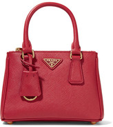Prada Galleria Baby Textured-leather Tote - one size