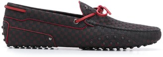 Tod's x Ferrari driving shoes